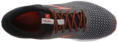 2 light orange Running black Da Grey Scarpe Revel Uomo Nero 091 Brooks 7B8q55