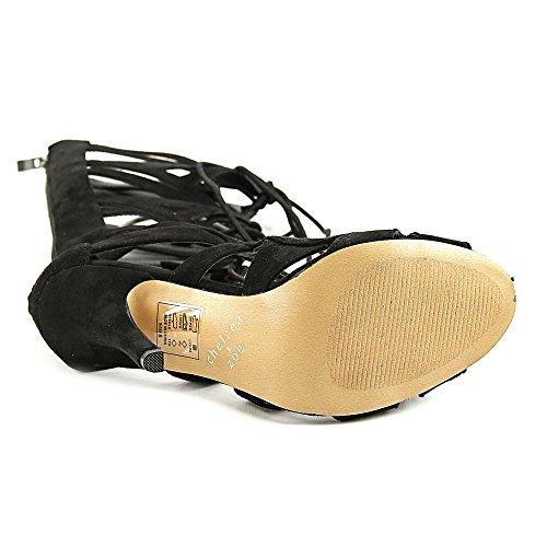 Chelsea & Zoe Carass Kvinnor Oss 8 Svart Gladiator Sandal