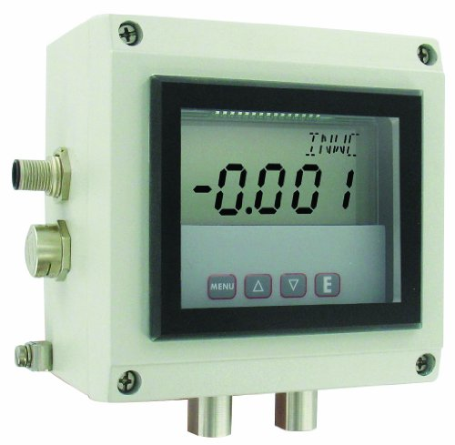 Dwyer Series ISDP Intrinsically Safe Differential Pressure Transmitter, 0-5.0''WC by Dwyer