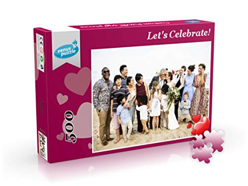 Custom Puzzle with Your own Photo, 500 Pieces Puzzle from Photo, Personalized Photo Puzzle Gift ()