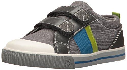 See Kai Run SNS114M161 Boys' Russell Sneaker, Gray Denim, 12.5 M US Little Kid