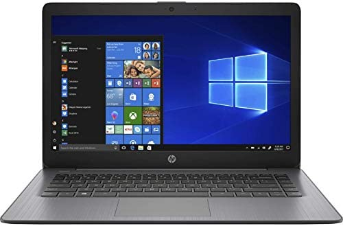 HP Stream Laptop Intel N4000 4GB 64GB eMMC 14-Inch WLED Win 10 S Mode (Renewed)