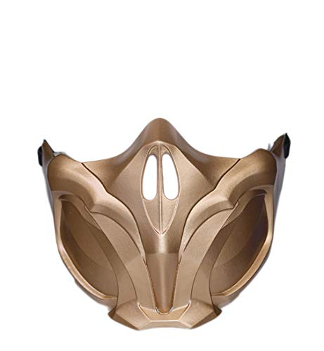 Scorpion Mask Props Accessories for MK 11 Cosplay Adult]()