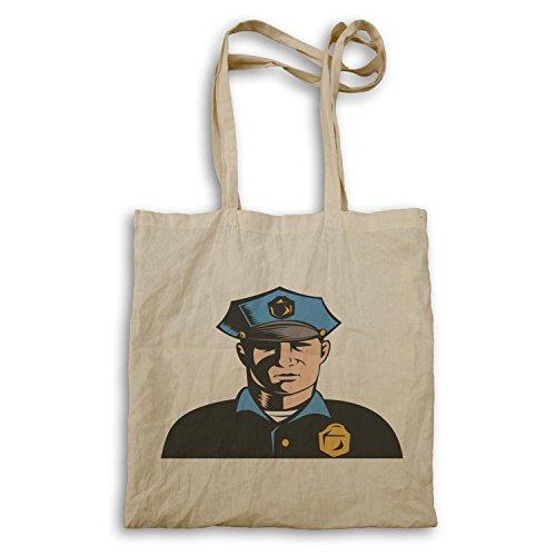 Kunst Polizist Tragetasche a634r Amerika lustige Neuheit USA 0aqvarwE