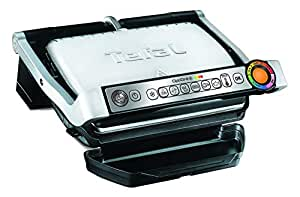 Tefal indoor Electric Grill, Optigrill Plus/BBQ. With snacking and baking accessory, GC715D28