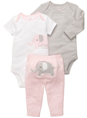 Carter's 'I Love Mommy' Baby Clothes - 3 Pc Set