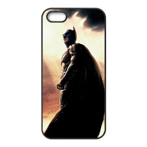 Dark Knight Rises Ends coque iPhone 5 5S cellulaire cas coque de téléphone cas téléphone cellulaire noir couvercle EOKXLLNCD23051