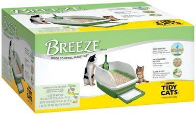 , Breeze, Litter Box Kit System, 1 Kit by Purina Tidy Cats (Breeze Kit)