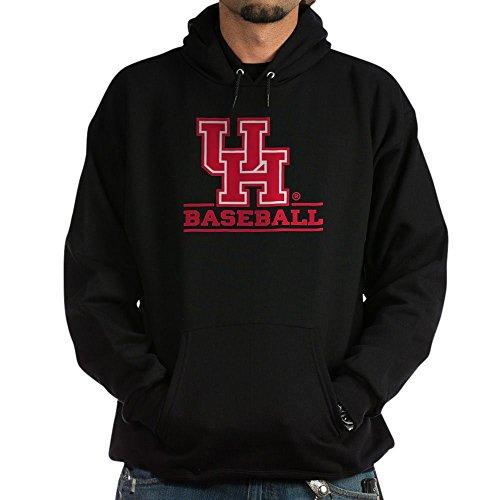 CafePress Houston Cougar Baseball Pullover Hoodie, Classic & Comfortable Hooded Sweatshirt Black ()