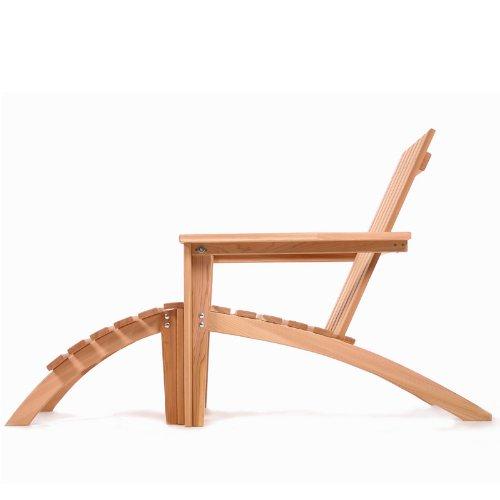 Cedar Western Loveseat (Western Red Cedar Adirondack Easybac Chair and Ottoman Set - Patio and Garden Furniture)