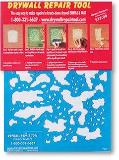 Heavy Texture Drywall Repair Tool