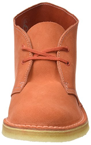 261227404 Clarks Originals Women's Light Boots Pink Coral Orange Desert pqOCw