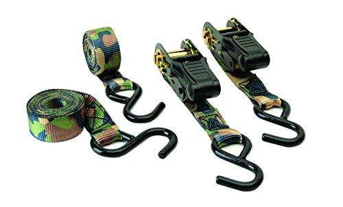 HME Products Camo Ratchet Strap- 4pk