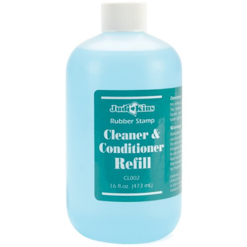 Cleaner Stamp Stazon Solvent Ink - Judikins Stamp Cleaner Refill 16-Ounce