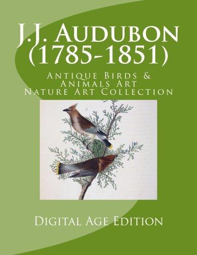 Download J.J. Audubon  (1785-1851) Antique Birds & Animals Art: Nature Art Collection Digital Age Edition pdf