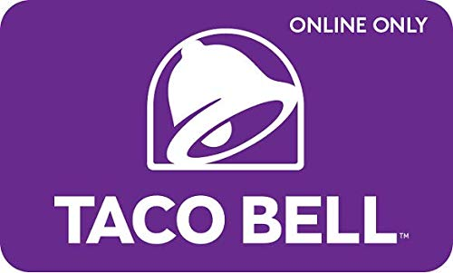 Amazon.com: Taco Bell Configuration Gift Cards - Email Delivery: Gift Cards