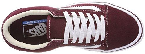 Sneaker Suede Lite Skool Unisex Canvas Rot Vans Old Erwachsene qCx70WwpX