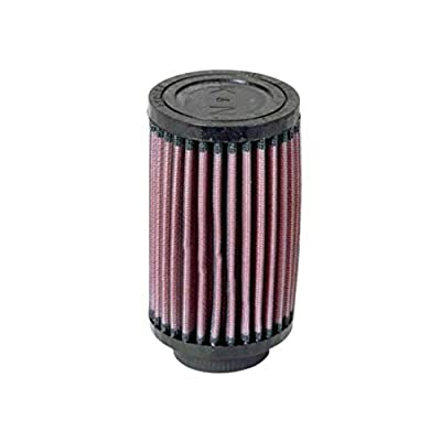 K&N Universal Clamp-On Air Filter: High Performance, Premium, Washable, Replacement Engine Filter: Flange Diameter: 1.6875 In, Filter Height: 5 In, Flange Length: 0.625 In, Shape: Round, RU-0210: Automotive