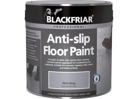 Blackfriar Anti Slip Floor And Step Safety Paint Mid Grey