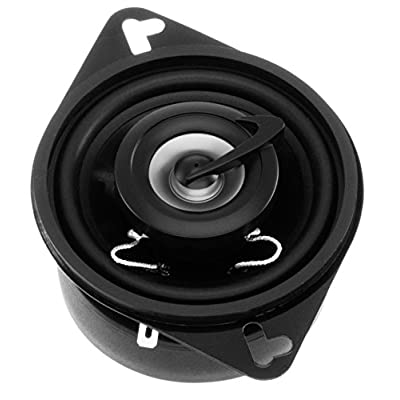 Planet Audio TRQ322 3.5 Inch Car Speakers - 140 Watts of Power Per Pair, 70 Watts Each, Full Range, 2 Way, Sold in Pairs
