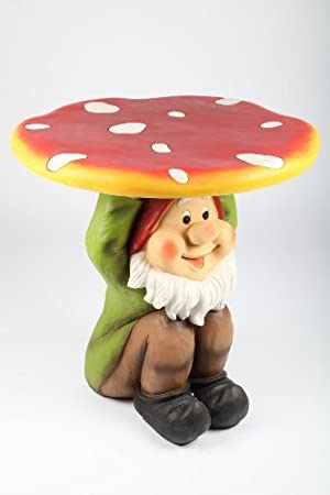 Delicieux Point Garden Garden Gnome U0026quot;mushroomu0026quot; Table For Childrenu0027s ...