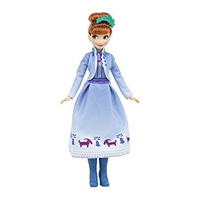 Disney Frozen Festive Friends Collection, Elsa, Anna, Sven and Olaf, Ages 3 and up  ( Exclusive): Toys & Games