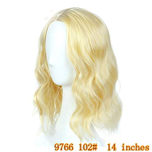 Peony red Hair Heat Resistant Halloween Party Cosplay Wigs For Black Women 102 -