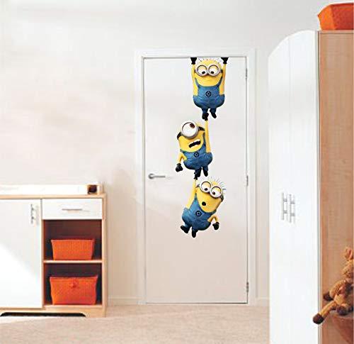 Wall Stickers Door Sticker | Wall Sticker for Living Room -Bedroom - Office - Kids Room - Hall -...