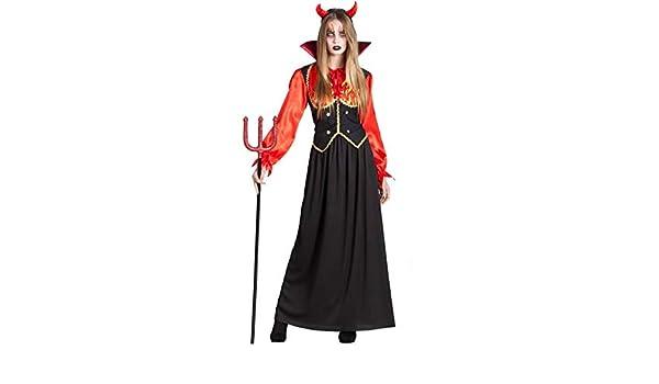 Car&Gus Disfraz de Diablesa en Llamas para Mujer: Amazon.es ...