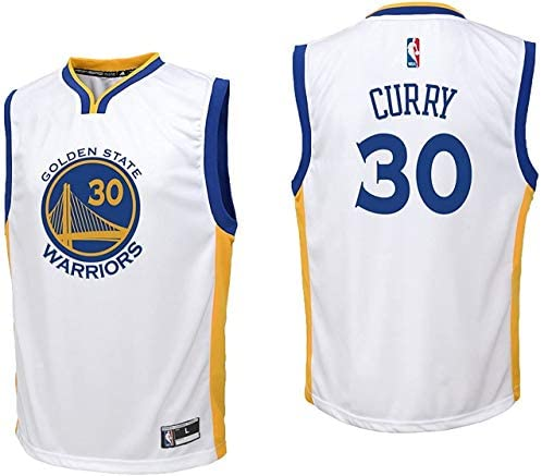 Navy Away Basketball Jersey Giovent/ù Golden Basketball Kid Maglie Stato # 30 Stephen Curry Traspirante Guerrieri Retro Jersey Fan Maglie