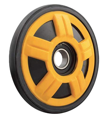 (Ski Doo 180 Mm Yellow Idler Wheel)