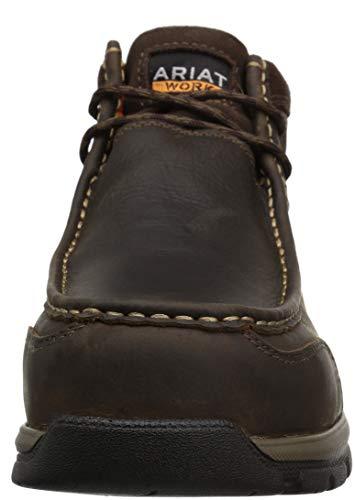 LTE Men's Work 4 Composite Dark Moc Ariat Brown Edge Boot Western Toe tBAqWw