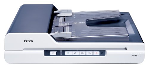 EPSON GT-1500 A4 BUS FLATBED SCANNER GRY