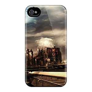 Sanp On Case Cover Protector For Iphone 4/4s (dooms Day)