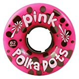 : ABEC 11 Pink polka dots (ABPD62-94a) Longboard Wheels (Set of 4)