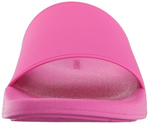 Vince Damen Westcoast Slide Sandale Magentaroter Gummi