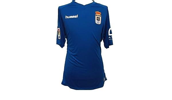 Real Oviedo Camiseta de la Temporada 2015 - 2016 XL: Amazon.es ...