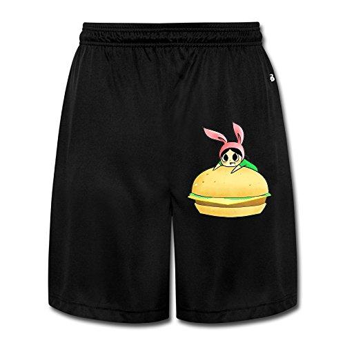 AmFUN Men's Bobs Burgers Louise Shorts Sweatpants ()