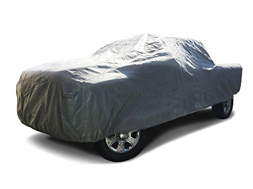 Cab 8' Bed Cover - CarsCover 2006-2019 Dodge Ram 2500/3500 Crew/Mega Cab 8ft Long Bed Box Full 4 Door Truck Car Cover Heavy Duty All Weatherproof Waterproof Ultrashield