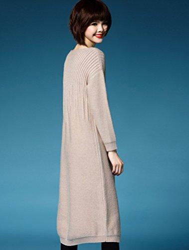 MatchLife - Jerséi - para mujer Style3-Camel(Fit UK 4-10)