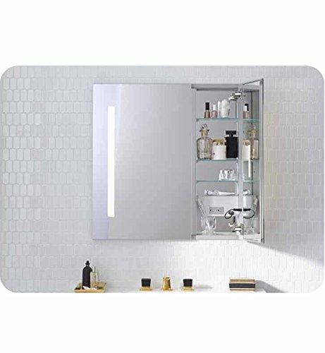 """Robern AC3030D4P2L AiO 30"""" x 30"""" Two Door Cabinet with 4000K"""