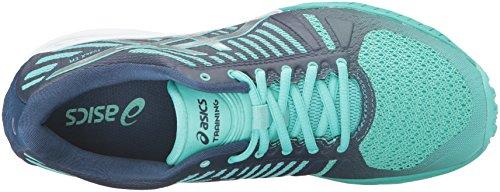 Asics Womens Fuzex Tr Cross-trainer Scarpa Cacatua / Argento / Poseidon