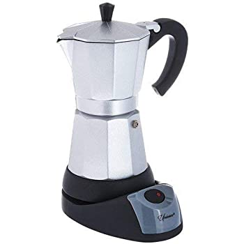 Electric Cuban/Espresso Coffee Maker 3 Cups (4 ounces each)