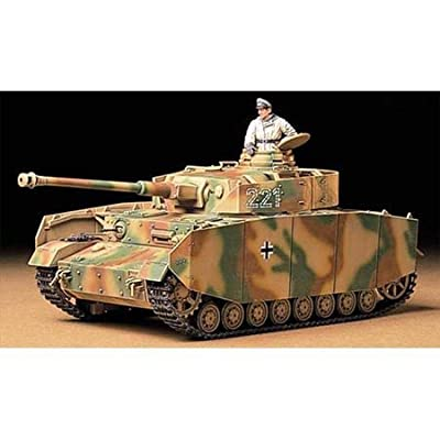 Tamiya 35209 1/35 Pz Kpfw IV Ausf. H Early Ver. Tank Plastic Model Kit: Toys & Games