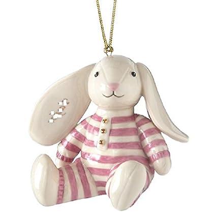 Amazon Com Lenox Pink Bunny Floppy Eared Baby Girl