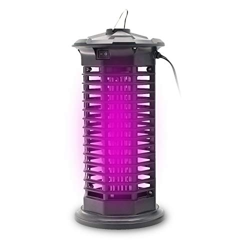 Romeifly Bug Zapper [2020 Updated] Mosquito Killer Insect Trap Pest Control Light with Switch Button Electronic UV Lamp for Indoor Use Bedroom, Kitchen, Office, Home