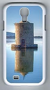 Light Tower Sakuraelieechyan Samsung Galaxy S4 I9500 White Sides Hard Shell Case(PC Material)