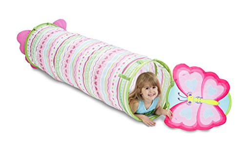 Melissa & Doug Sunny Patch Cutie Pie Butterfly Crawl-Through Tunnel (almost 5 feet ()