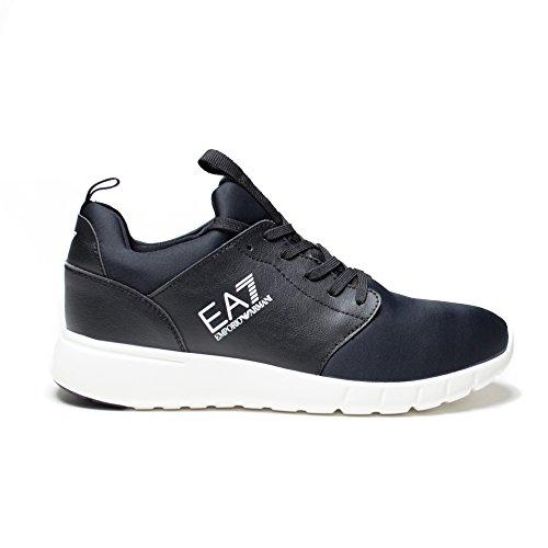 Emporio Armani - Zapatillas de Material Sintético para hombre Negro negro * negro