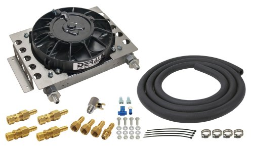 Derale 13950 Atomic-Cool Remote - Transmission Oil Cooler Cool